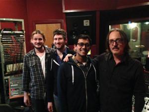 Engineer James Brown, Magic Shop Engineers Chris Shurtleff and Kabir Hermon, Producer Butch Vig